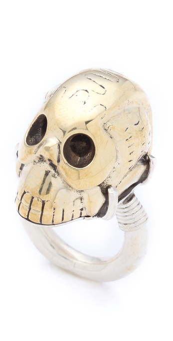 push BY PUSHMATAaHA Skull Ring