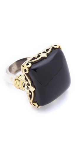 push BY PUSHMATAaHA Square Monarch Ring