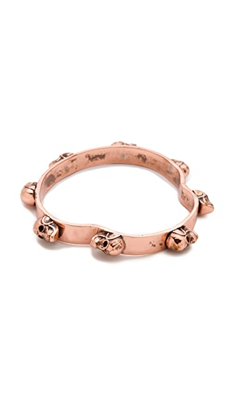 push BY PUSHMATAaHA Skull Bangle