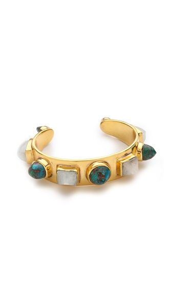 push BY PUSHMATAaHA Slim Stone Cuff Bracelet