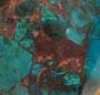 Chrysocolla/Calcite