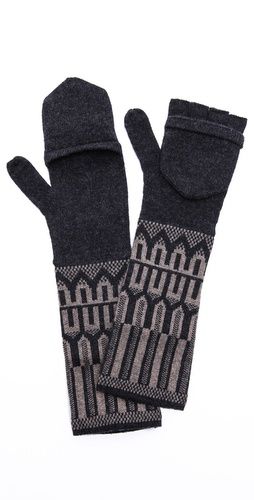 QUINN Ikat Gloves at Shopbop / East Dane