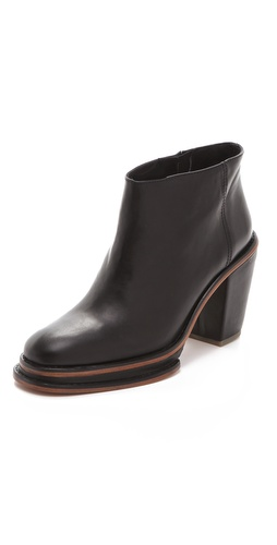 Rachel Comey Bout Chunky Heel Pull On Booties
