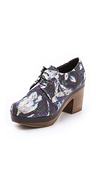 Rachel Comey Rolim Heeled Print Oxfords