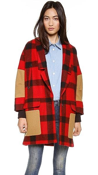 Rachel Comey Karloff Check Coat