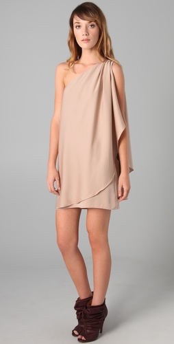 Rachel Zoe Debbie Grecian Wrap Dress