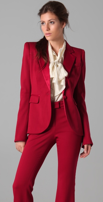 Rachel Zoe Basic Tailor Tux Jacket