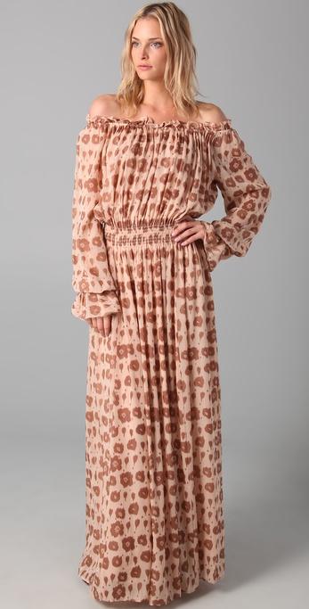 Rachel Zoe Diane Blouson Maxi Dress