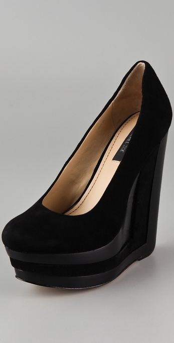 Rachel Zoe Eva Platform Wedge Pumps