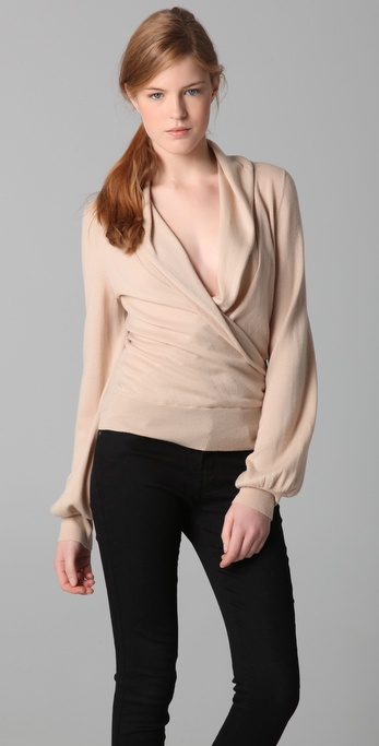 Rachel Zoe Suzanne Wrap Sweater