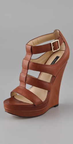Rachel Zoe Kelsey Platform Wedge Sandals