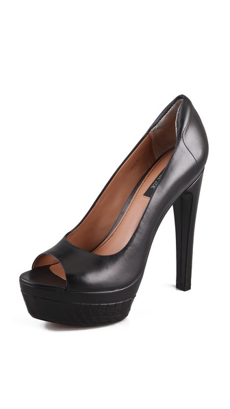 Rachel Zoe Alyssa Open Toe Pumps