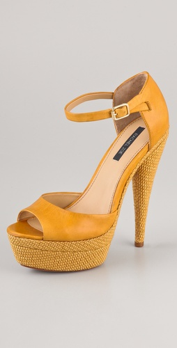Rachel Zoe Bardot Platform Sandals