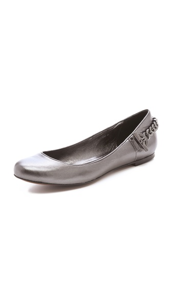 Rachel Zoe Laura Metallic Flats
