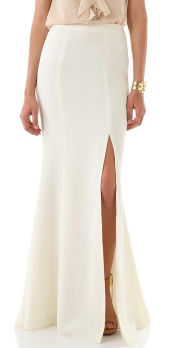 Rachel Zoe Alia Flared Maxi Skirt