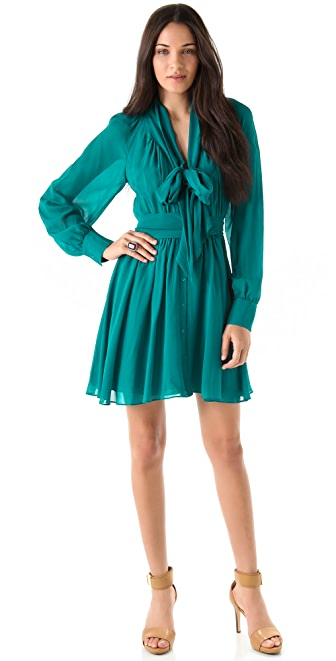 Rachel Zoe Arielle Bishop Sleeve Dress
