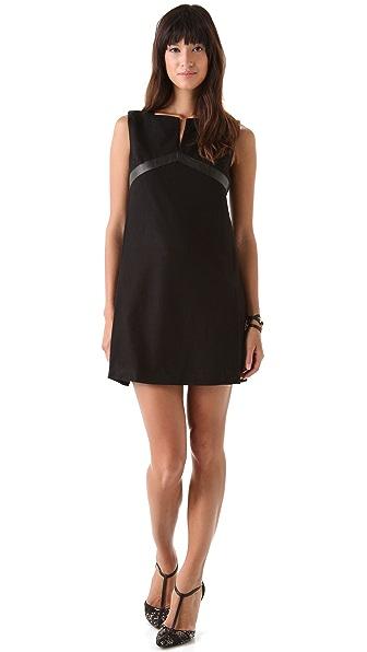 Rachel Zoe Eda Empire Trim Dress