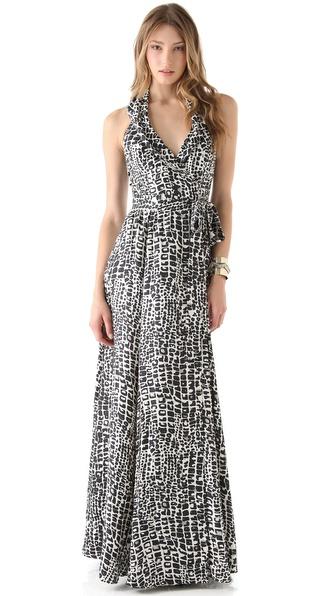 Rachel Zoe Sasha Shawl Collar Gown