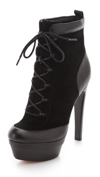 Rachel Zoe Adrienne Lace Up Booties