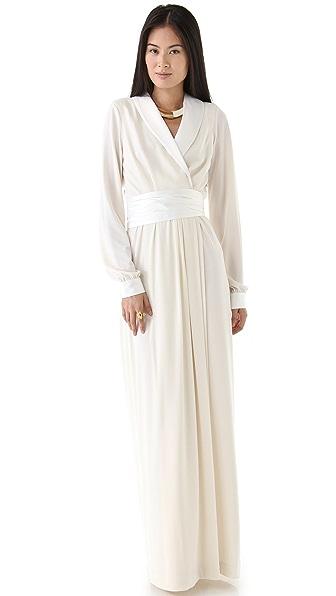 Rachel Zoe Estella Tuxedo Wrap Gown