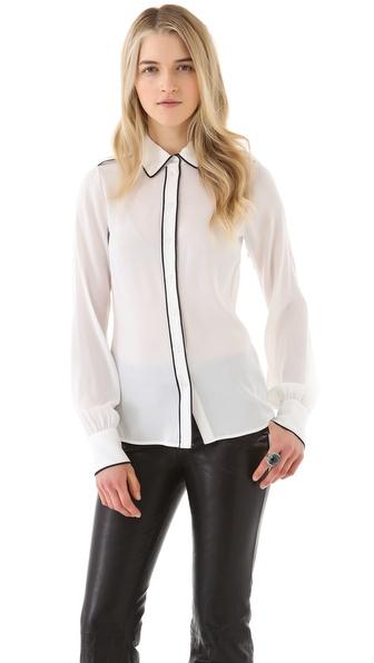 Rachel Zoe Lara Basic Shirt