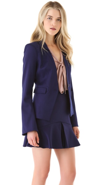 Rachel Zoe Megan Bell Sleeve Jacket