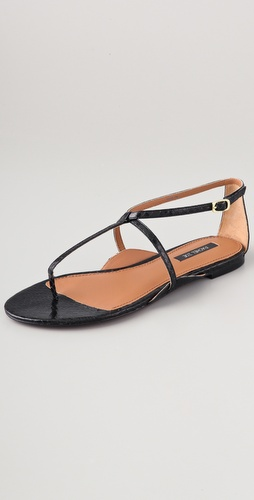 Rachel Zoe Gwen Flat Sandals