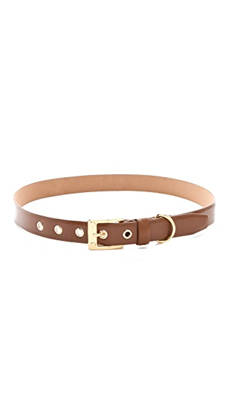 Rachel Zoe Thin Belt with Screw Buckle