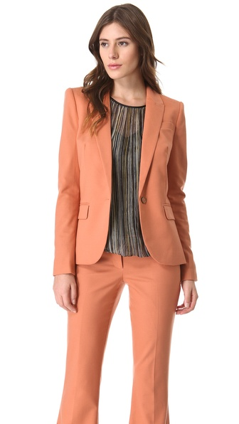 Rachel Zoe Hanne V Neck Jacket