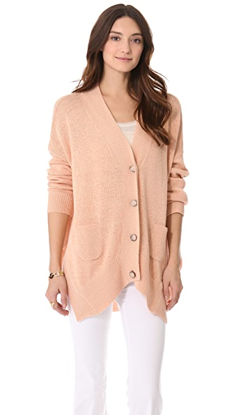 Rachel Zoe Helena High Low Cardigan