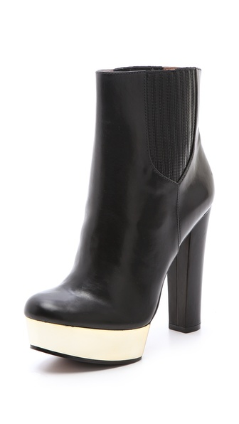 Rachel Zoe London Platform Booties