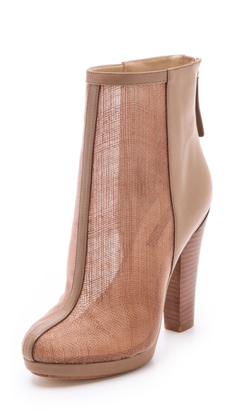 Rachel Zoe Maddy Raffia Platform Booties