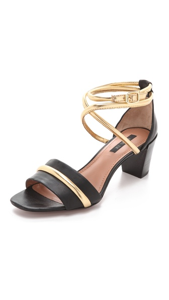 Rachel Zoe Montana Low Heel Sandals