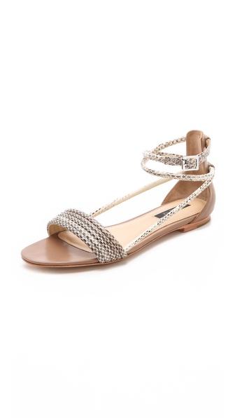 Rachel Zoe Georgie Snake Sandals