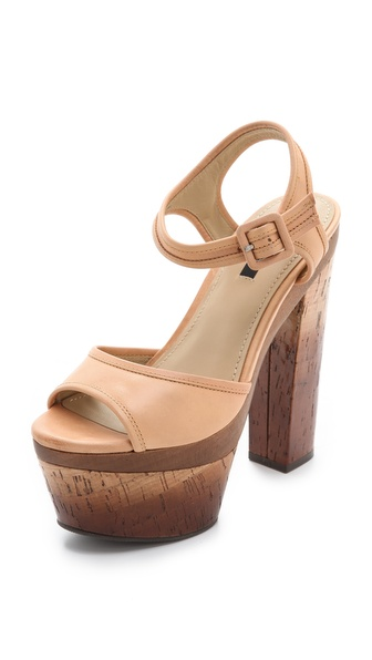 Rachel Zoe Evelyn Cork Platform Sandals
