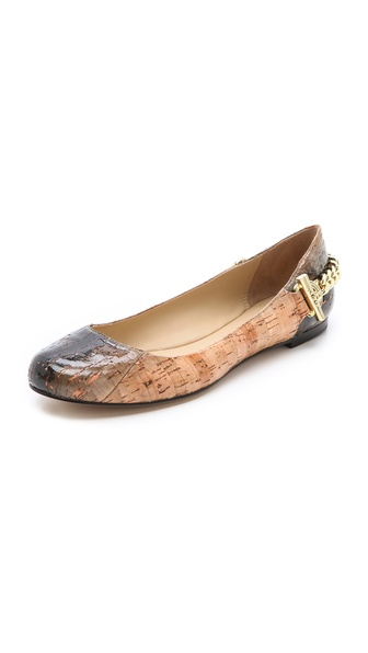 Rachel Zoe Laura Cork Ballet Flats