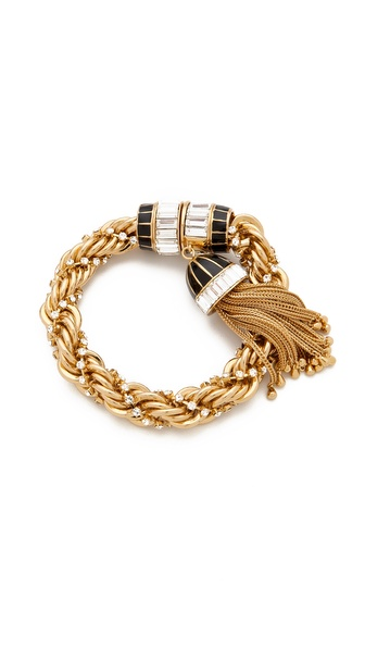 Rachel Zoe Tassel Bracelet