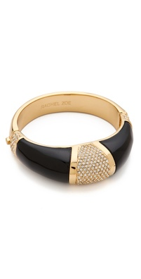 Rachel Zoe Two Tone Bangle