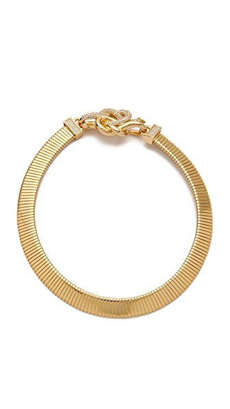 Rachel Zoe Knot Collar Necklace