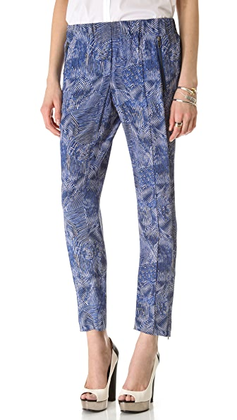 Rachel Zoe Mona Pintucked Pants