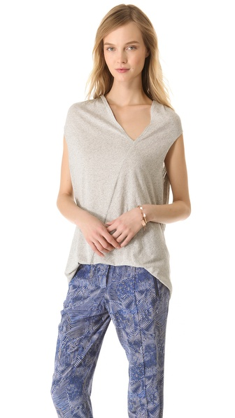 Rachel Zoe Denise Asymmetrical Top
