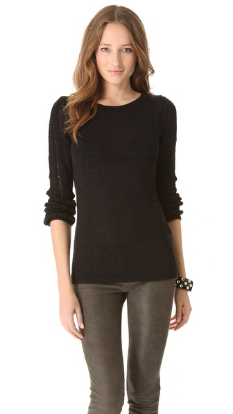 Rachel Zoe Karla Openwork Sweater