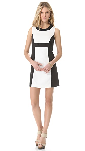 Rachel Zoe Madison II Open Collar Dress