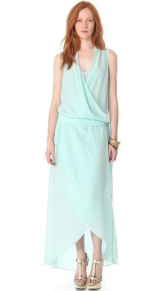 Rachel Zoe Celine Surplice Gown