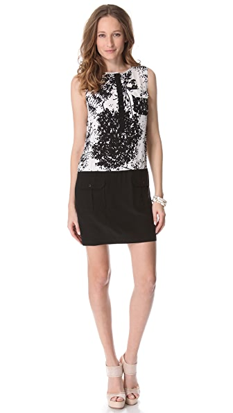 Rachel Zoe Jonah Color Block Mini Dress