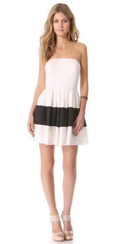 Rachel Zoe Margret Strapless Dress