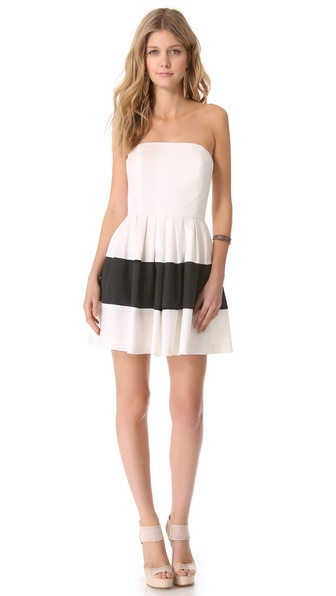Rachel Zoe Margret Strapless Dress
