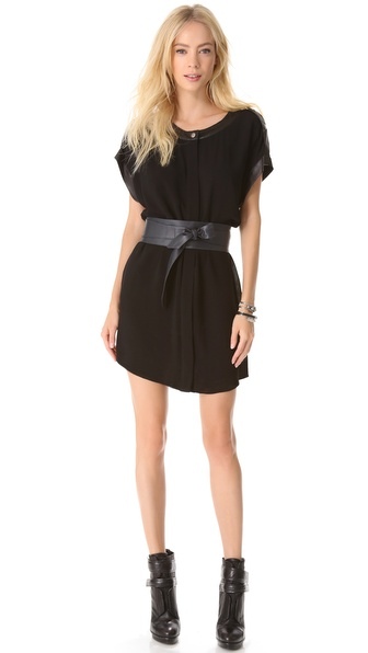 Rachel Zoe Reyna Tapered Sleeveless Dress