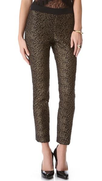 Rachel Zoe Aurelia Stripe Skinny Pants