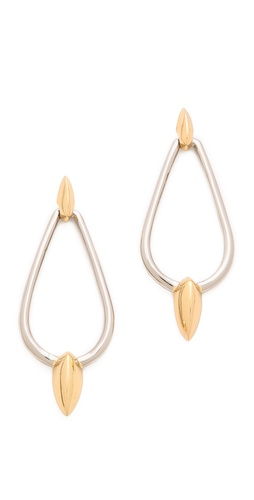 Rachel Zoe Bear Claw Drop Earrings